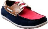 Killer 5002-Blu-Tan-Red Boat Shoes (Blue...