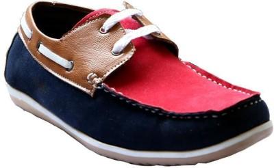 Killer 5002-Blu-Tan-Red Boat Shoes
