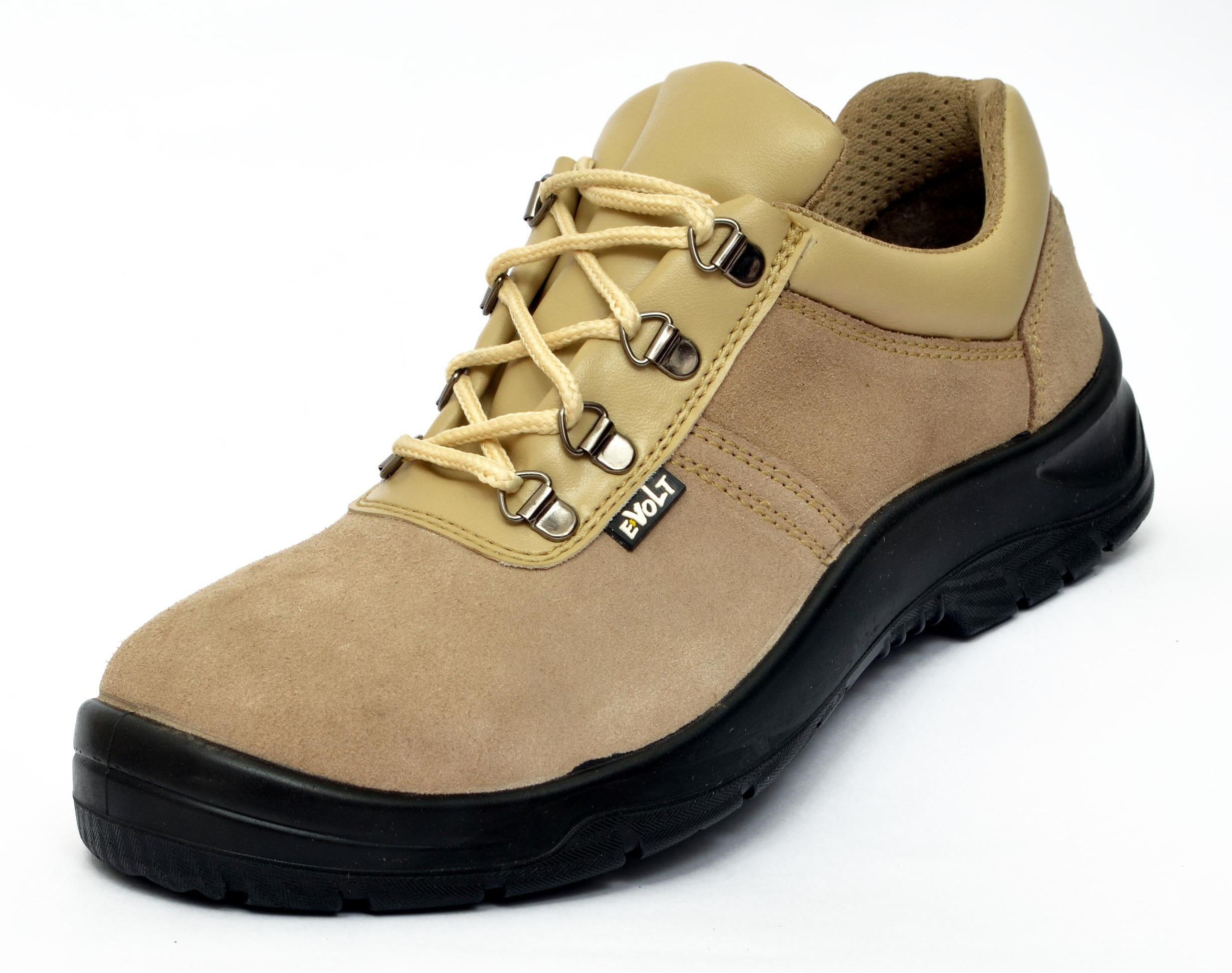 E Volt Wolf ISI Marked Safety Shoe Casuals(Beige) Image