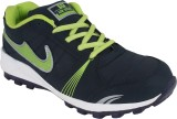 Air Running Shoes (Blue, Green)