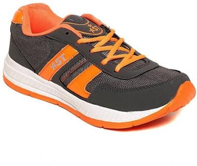 Shoe Island Sturdy Grey ,n, Orange Sport Shoes Training & Gym Shoes
