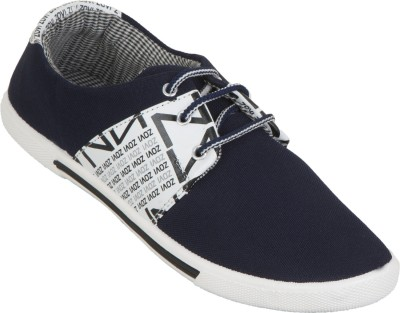 Zovi Navy With Branding Casual Shoes