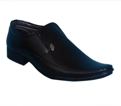 Smoky Black Formal Shoe Slip On