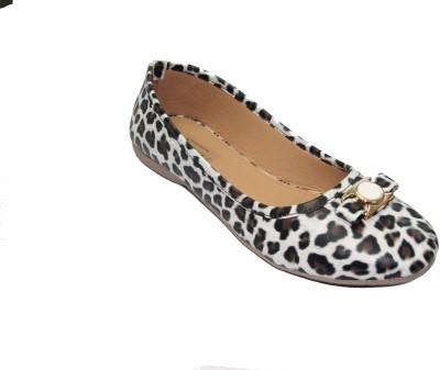 Florentyne Leopard Covered Toe Bellies