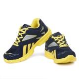 Leedas Running Shoes (Blue, Yellow)