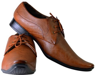 Smoky Tan Party Lace Up Shoes