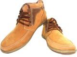 JK Port Men New Leather High Ankle Boot ...