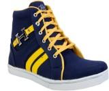Royal Run Elegant Boots (Blue, Yellow)