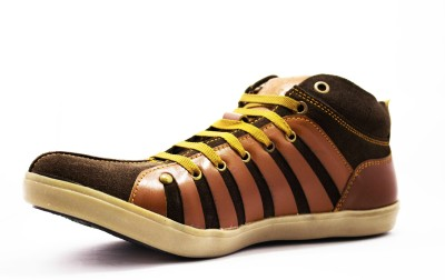 Molessi Molessi Brown Leather Casual Shoes Lace Up Shoes