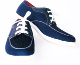 Red Cube Sneakers (Blue)