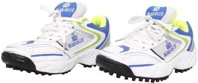 Blue Dot Cricket Shoes
