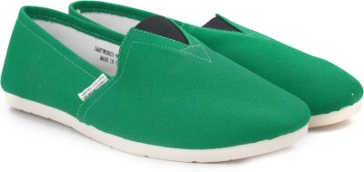 United Colors of Benetton Men Loafers(Green)