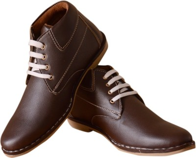 3 Wolves Brown Facer Boots