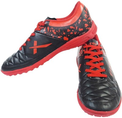 Vector X Football Shoes(Black, Red)