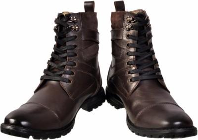 Apaache Powder Burnish Leather Boots