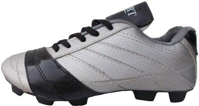 Port Unisex Nitro PU Football Shoes(Black)