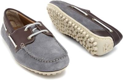 WROGN Boat Shoes(Grey) at flipkart