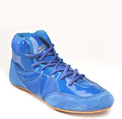 Rxn Blue Boxing & Wrestling Shoes