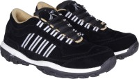 Kraasa Sports Ace Running Shoes, Walking Shoes, Cricket Shoes(Black) best price on Flipkart @ Rs. 499