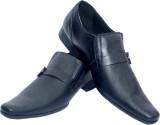 Aura Shoes 3515 Slip On Shoes (Black)