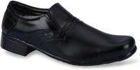 Force Hill 9018 Black Slip On Shoes