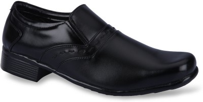 Force Hill 9018 Black Slip On Shoes