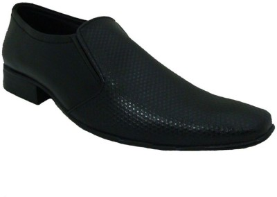 Senso Vegetarian Shoes Conventional Black Slip On Shoes