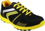 Azazo Running Shoes (Black, Yellow)