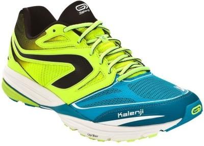 Kalenji Kiprun Mens Blue Yellow Running Shoes
