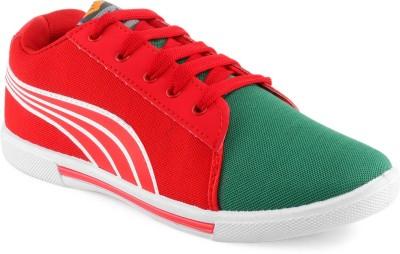 Adooxy Dk-1 Grn-Red Sneakers