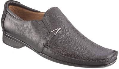 Metro Formal Slip On Shoes(Black)