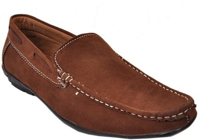 Raja Fashion Synthetic Brown Loafers