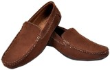 Fashion Zone Brown Loafers (Brown)