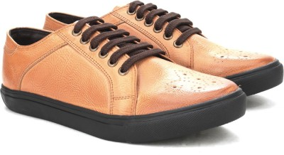 Knotty Derby Lockhart Brogue Sneaker Sneakers(Tan)