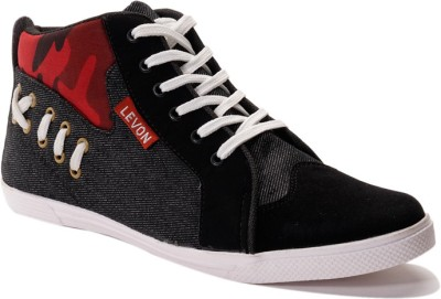 Levon London Levon Rochester Criss-Cross Sneakers