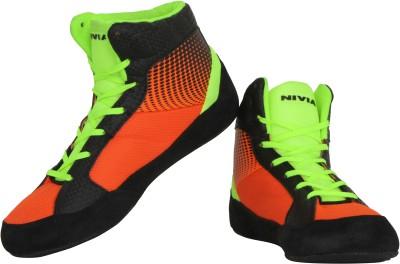 Nivia New Wrestling Shoes(Orange)