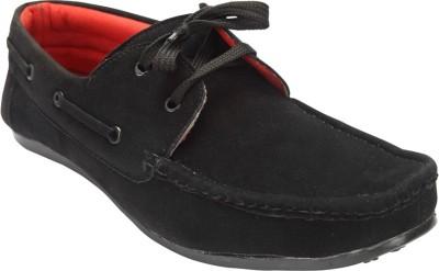 Savie Shoes JMSS1-Black Boat Shoes