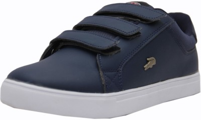 Black Tiger Men's Synthetic Leather Casual Shoes 8058-Blue-9 Casuals