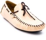 Belle Gambe Elegant Loafers (Beige)