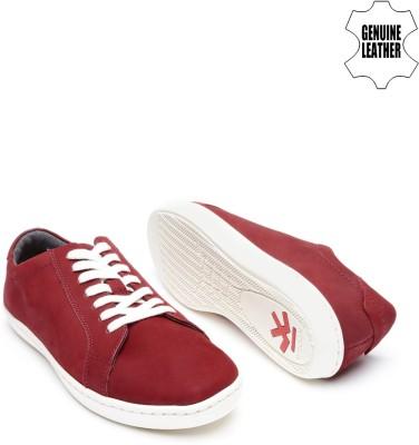 WROGN Sneakers(Red) at flipkart