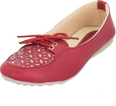 Advin England Women Red Flats