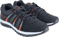 Lancer Walking Shoes(Grey, Orange)
