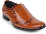Styx Mens Formal Slip On Shoes (Tan)