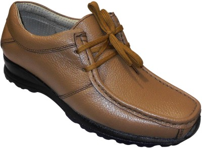 Zikrak Exim Stylish Genuine Leather Outdoor Shoes