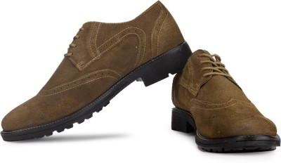 Famozi Men Corporate Casuals(Brown)