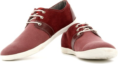 High Sierra Men Sneakers(Maroon)