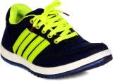 Sam Stefy Walking Shoes (Blue, Green)