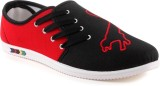 Wepro C2 Black Red Casuals (Black, Red)