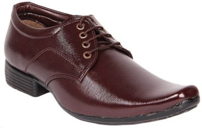 Dox Brown Lace Up Shoes