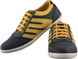 Crab Shoes Canvas Shoes (Yellow, Grey)
